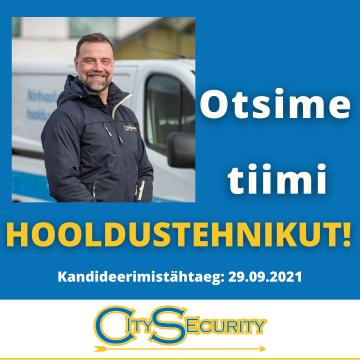 Liitu CitySecurity meeskonnaga